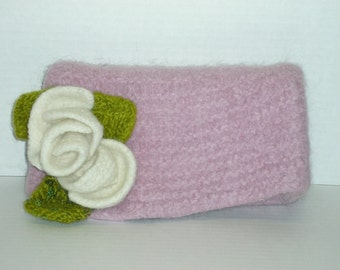 Felted Knitting Patterns Felted Clutch Bag Knitting Patterns Felted  Flower Pattern Included Quick Felting Pattern Quick Gifts Knitted Gifts