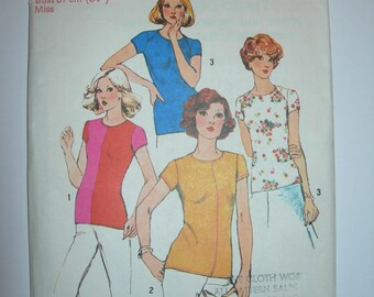 Vintage 1974 Simplicity Shirt Pattern 6289