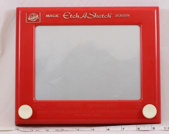 Vintage OHIO ART Etch A Sketch Magic Screen # 505 World of Toys Working