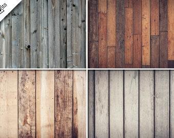 VINTAGE WOOD 4PK Vinyl Backdrop - Photography Vinyl Backdrop - Rustic Wood  - Foodie Backdrop - Fence Backdrop - Wood Backdrop -Antique Wood