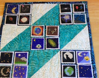 Bead-It-Forward Space Themed Quilt BIF21