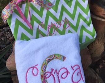 Totebag & Beach Towel Combo