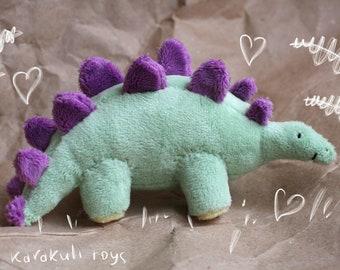 """Handmade Plush Toy - Dinosaur """"Stegosaurus"""""""