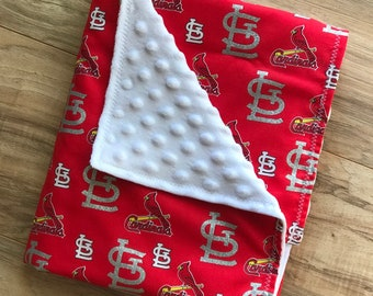 St Louis Cardinals Baby Blanket