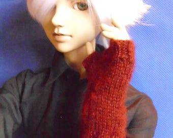 BJD Fingerless Mitts for 70cm Dolls