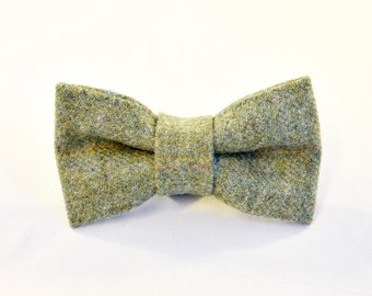 Spring Forward Tweed Bow Tie