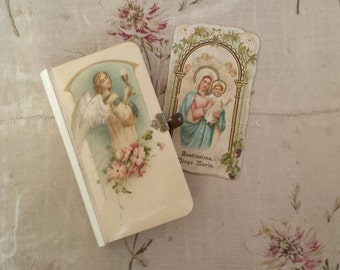 French book of prayers, Bible, antique