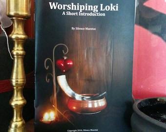 Worshiping Loki - Lokean book, pagan book, devotional, pagan devotional, devotional practice, polytheism, beginning pagan