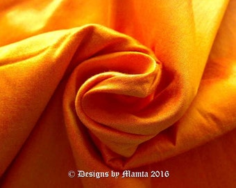Sunshine Yellow Art Silk Dupioni Fabric, Wholesale Dupioni Fabric, Indian Art Silk Fabric, Yellow Dupion Silk,Amber Yellow Silk India Fabric