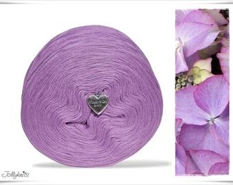 Solid Yarn Merino Lilac 750m