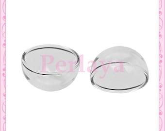 5 flat REF1116x5 24mm glass domes globes
