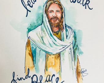 5 pack - 8x10 Peace in Christ Prints
