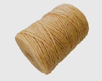 AAYU's Jute Twine | 3ply 100 ft ,150 ft ,200 ft, 300 ft and  400ft per spool | jute Garden Twine,Supports Vines, Vegetables Pottery Product