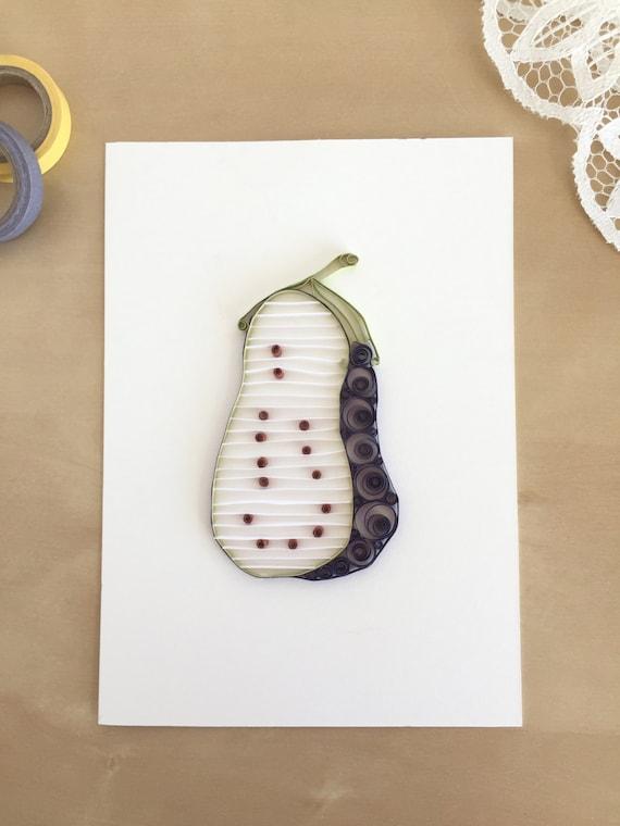 Quilling Paper Purple Eggplant Home Decor Eggplant Kitchen