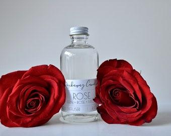 Rose Reed Diffuser, Handmade, Organic, Wholesale, Bulk Order