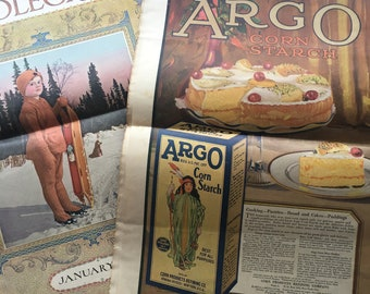 Lot of 5 Antique Needlecraft Magazines. February 1920. March 1920. January 1920. April 1919. October 1919