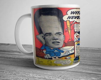Comic Strip Coffee Mug Bromo Seltzer Advertising Newspaper Magazine Comic Book Hangover Cure Ad Vintage Advertising