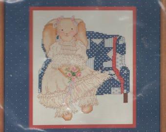 Dale Burdett Victorian Bunny  Counted Cross Stitch  Kit
