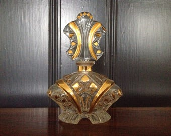 Vintage Art Deco French Perfume Decanter