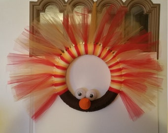 Tulle Turkey Wreath