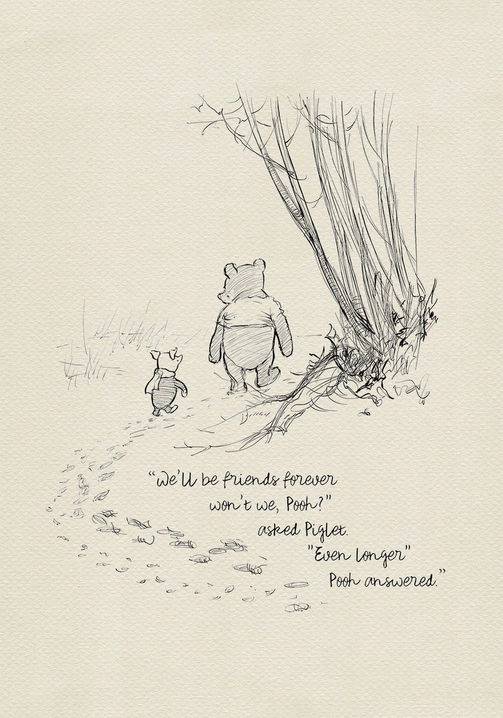 Pooh Love Quotes Winnie The Pooh Quotes We'll Be Friends Forever