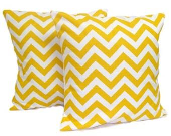 PILLOWS, Yellow Pillow Set, Decorative Pillow, Throw Pillow, Accent Pillow, Euro Sham, Couch Pillow,  Pillow. Pillow Sham, Cushion,All Sizes