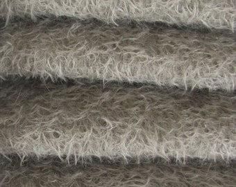 Quality 300S/CM - Mohair-1/4 yard (Fat) in Intercal's Color 913S-Pewter. A German Mohair Fur Fabric for Teddy Bear Making, Arts & Crafts