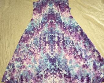 6194 Small Rayon Long Ribbon Strap Dress