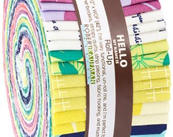 """Conservatory - Heather Jones - Robert Kaufman - 40 Pieces - 2.5"""" Strips - RU-641-40"""
