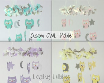 DESIGN Your Own SMALL OWL Mobile