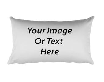 Customized All Over Printed Rectangular Pillow