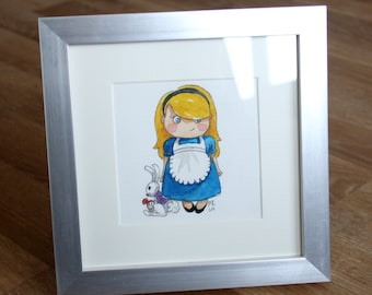 Illustration Mini Alice in Wonderland of
