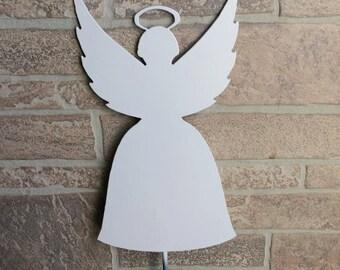 Metal Flying Angel Yard Stake - Garden Decor - Yard Decoration