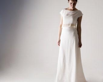 Wedding dress, Two piece wedding dress, Wedding dress Separates, Modern wedding dress, Alternative wedding dress, Simple wedding dress