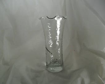 Vintage Libby glass vase