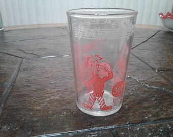 Howdy doody welchs glass