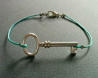 Key. Bracelet.