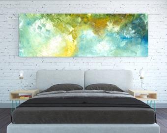 CANVAS PRINT Abstract Wall Art Horizontal Lanscape Horizontal Sky Abstract Wall  Art Large Huge Oversized Minimal
