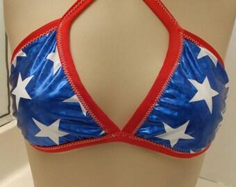 Stars Bikini Top