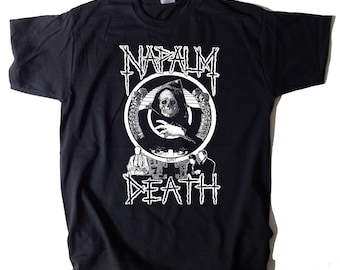Napalm Death T-SHIRT Life? Grindcore Death Metal Carcass