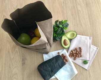 Zero Waste Gifts Gift For Friend Vegan Gift Eco Friendly Gift Snack Bag Gift Sustainable Gift Washable paper Gift Birthday Gift
