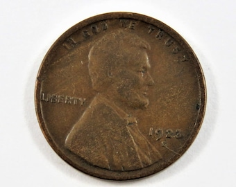 U.S. 1923 S  Lincoln One Cent Coin.