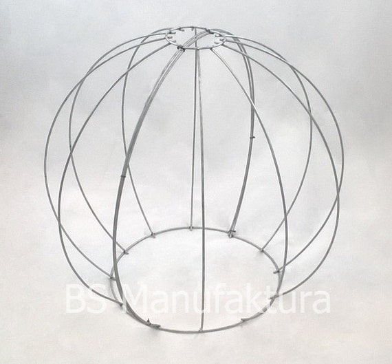 Topiary wire metal frame BALL GLOBE