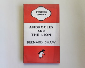 Bernard Shaw - Androcles and The Lion - 1946 - Penguin Books - Paperback - Second hand Books