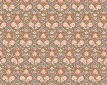 Alice in Brown - WILDWOOD Collection by Ana Davis for Blend Fabrics - 113.111.02.1