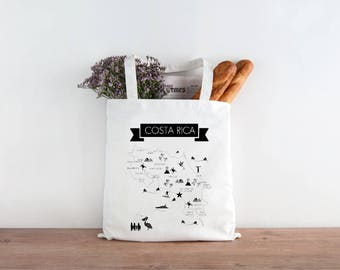 Costa Rica Wedding Tote - Sets of 10, 15, 20, 25, 50, 100 or 150