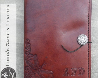 Handmade Leather Personalized Mini Legal Pad Cover