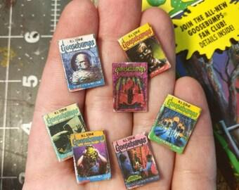 Miniature GOOSEBUMPS Books