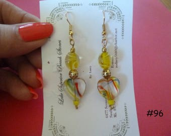Clearance Sale: Dangle Earrings of all Different Types, Five Different Pairs on Each Listing E96-100