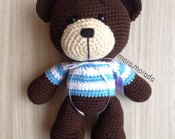 Bear Amigurumi | Bear Crochet | Amigurumi toy | Oso Teddy